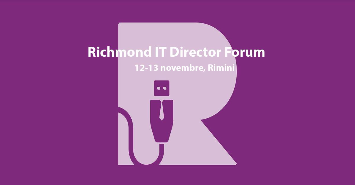 IRIDEOS main sponsor di Richmond IT Director Forum