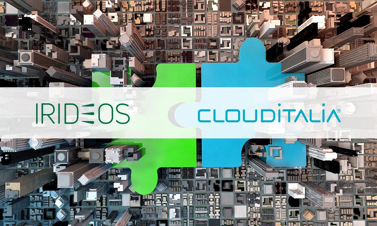 IRIDEOS incorpora Clouditalia