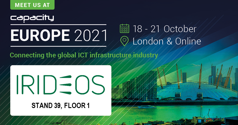 IRIDEOS partecipa @Capacity Europe 2021